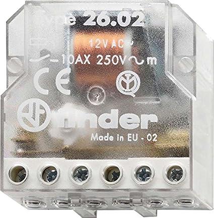 Finder 260880120000PAS - Telerruptor/conmutador encastrable 4 ...