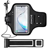 Galaxy Note 8/9/10+ Armband, JEMACHE Gym Run Workout Water Resistant Arm Band Case for Samsung Galaxy Note 8/9/10 Plus…