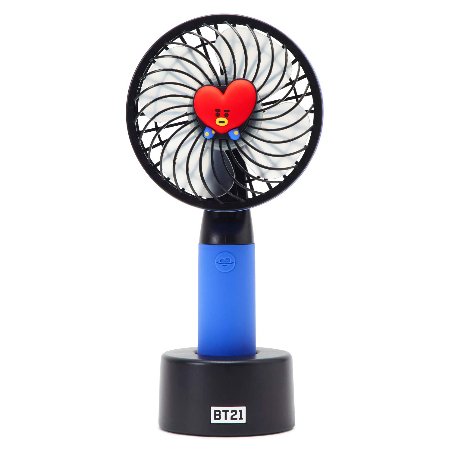 BT21 Official Merchandise by Line Friends - TATA Character Mini Handheld Personal Portable Fan