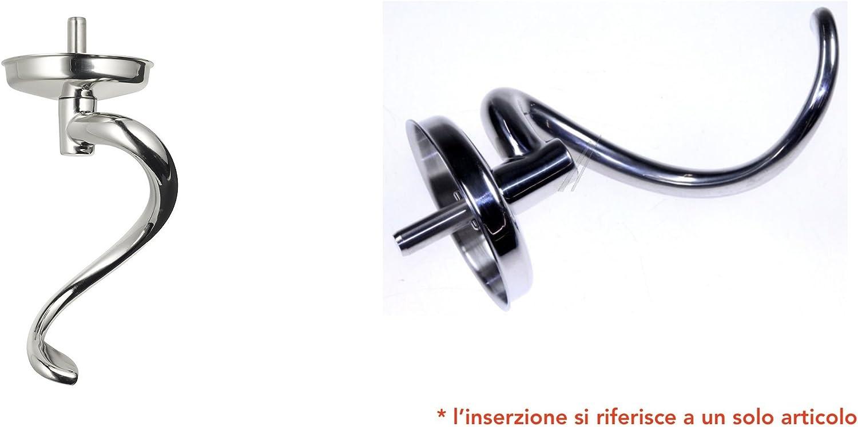 Gancio impastatore a spirale in acciaio inox Kenwood KMM760