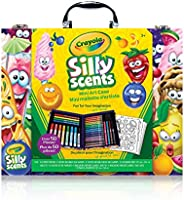 Crayola Scented Mini Inspiration Art Case, Scents, Markers,  Colouring Book, Gift for Boys and Girls, Kids, Ages 3+, Holiday Toys,  Arts and Crafts, Travel
