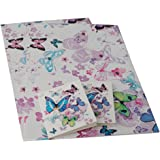 Simon Elvin - 2 Sheets of Gift Wrap and 2 Gift Tags - Womens/Girls