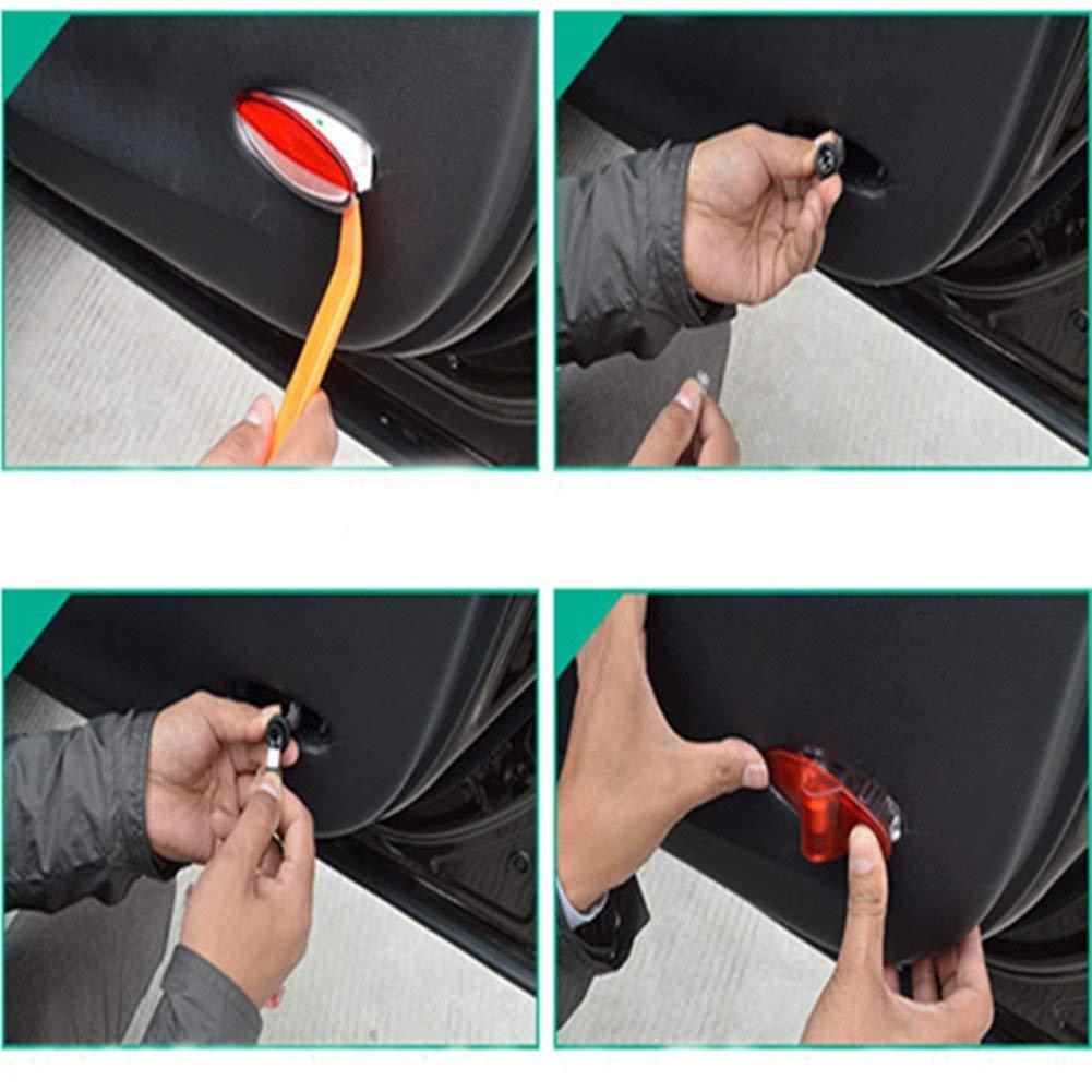 Cool Design Autot/ür Logo Projektion Licht T/ürbeleuchtung Willkommen Licht AD-4H-4PC-DE-N