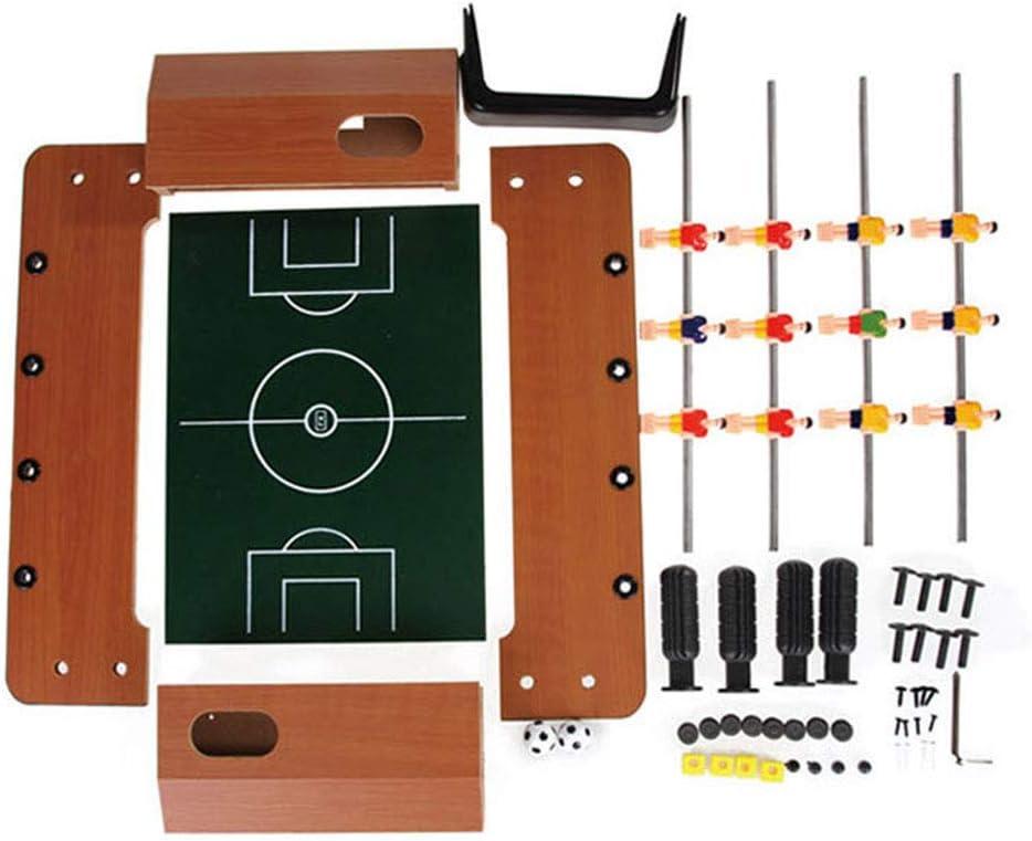 RUIXFFT Juego de futbolín,Juego de fútbol para 18 Jugadores ...