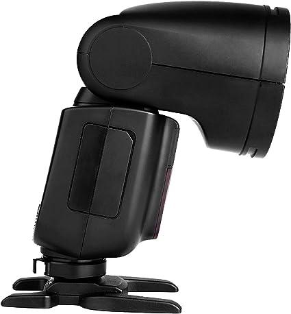 480 Full Power Shots Godox V1-C V1C Flash Interchangeable 2600mAh Lithimu Battery for Canon Camera 1.5 sec Recycle Time,1//8000 HSS