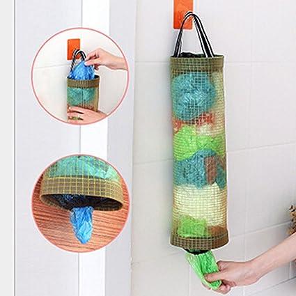 Dispensador de bolsas de plástico para colgar bolsas de ...