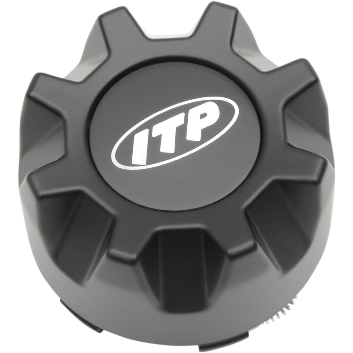 Matte Black 4//110, 4//115, 4//137, 4//156 ITP Hurricane//Tornado Center Cap