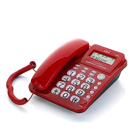 ZXL Teléfono con Cable/Escritorio Soporte para Mesa Incluido ...