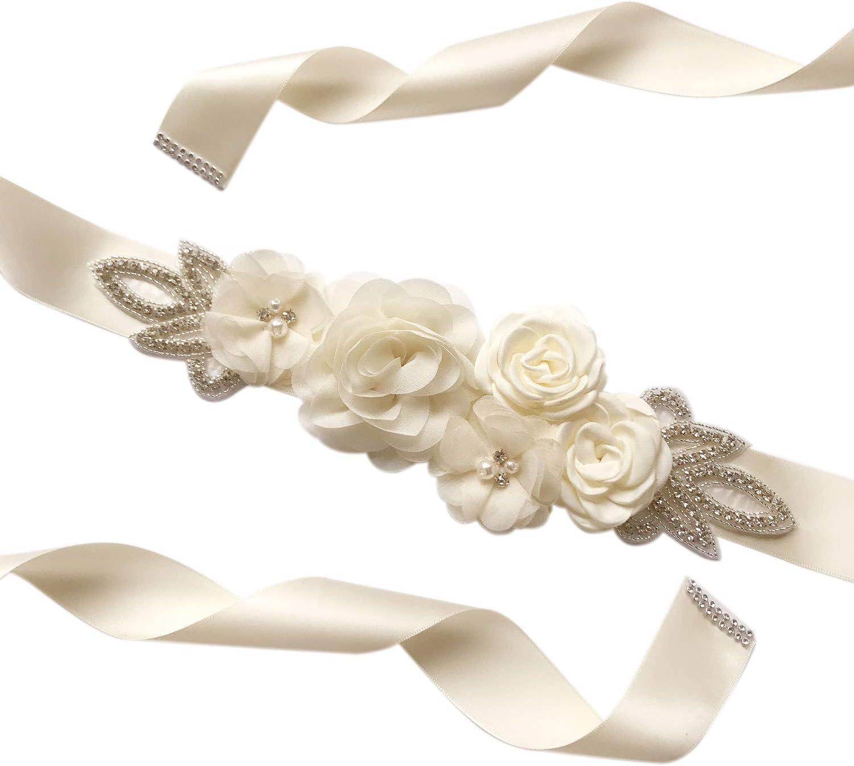 Lunghezza 270 CM Amorar Cintura da Donna Cintura da Sposa Cintura da Sposa Cintura da Damigella dOnore Cintura di Cristallo Cintura con Strass Cintura Cintura Gioielleria Accessori Abbigliamento