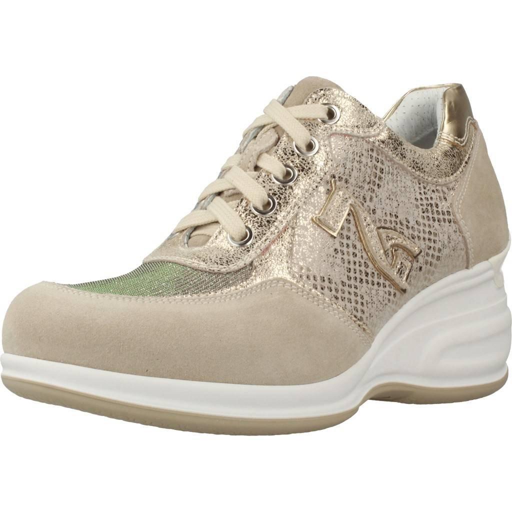 schwarzGiardin P805070D grau UND Elfenbein Turnschuhe Damenschuhe Schuhe komfortabel