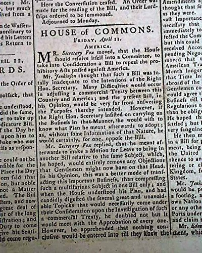 re-american-independence-shipping-to-europe-restrictions-eased-1783-newspaper-drewrys-derby-mercury-