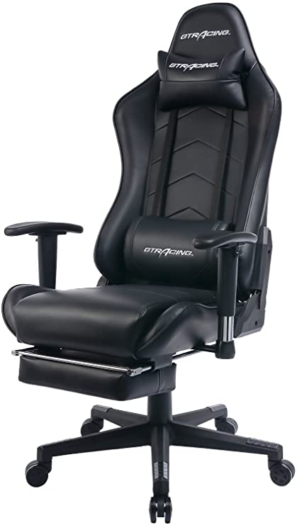 GTRACING Gaming Chair Heavy Duty Office Chair with Footrest E-sports Chair for pro gamer  sc 1 st  Amazon.com & Amazon.com: GTRACING Gaming Chair Heavy Duty Office Chair with ...