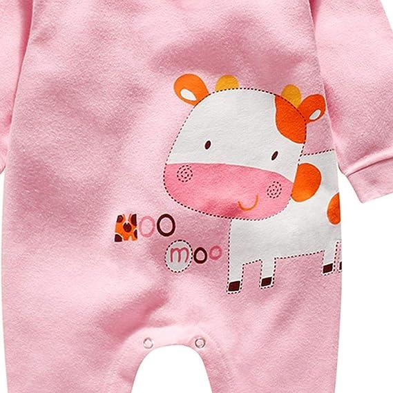 Ropa Bebe, Recién Nacido Bebé Bodies de Pata de Lobo Imprimir Peleles de Mangas largas Monos para Bebe niños Bebe niña: Amazon.es: Ropa y accesorios