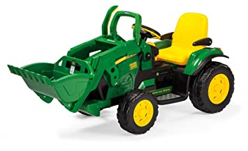 eb13755885 Peg Perego John Deere Ground Loader 12V IGOR0068 Electric Vehicle ...
