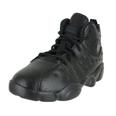 34b9d2e5dd Jordan Kids Jumpman Team II PS Black Dark Smoke Grey Size 2