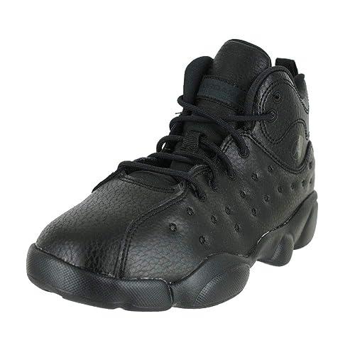 414b72aa184a39 Image Unavailable. Image not available for. Color  Jordan Kids Jumpman Team  II PS Black Dark Smoke Grey ...