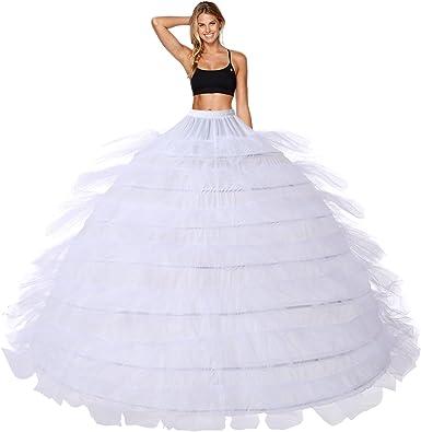 Reifrock - Falda de Novia, Falda de enague, Vestido de Novia, 7 ...