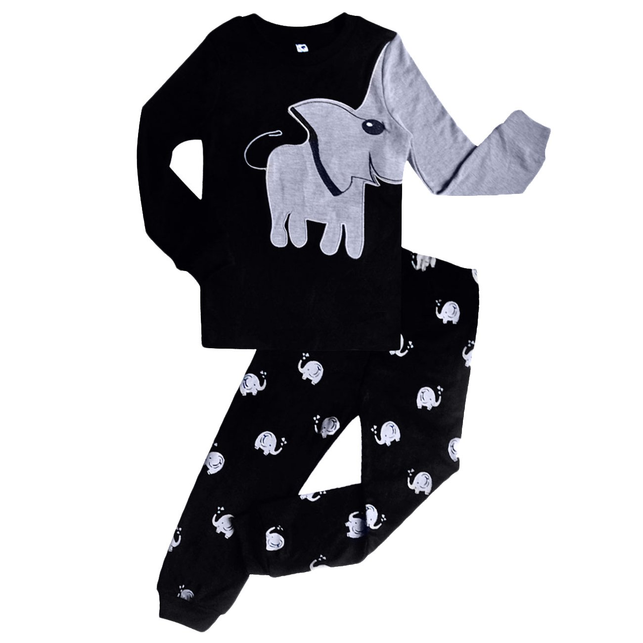 DDSOL Toddler Boys Thermal Underwear Essential Two-Piece Set