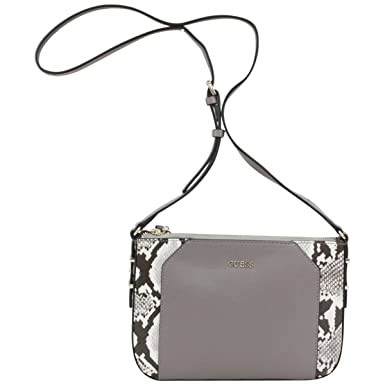Amazon.com: Guess Women's Devyn Mini Pebbled Taupe Multi Crossbody Handbag:  Clothing