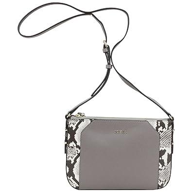 c44c5b122e60 Guess Women s Devyn Mini Pebbled Taupe Multi Crossbody Handbag  Handbags   Amazon.com
