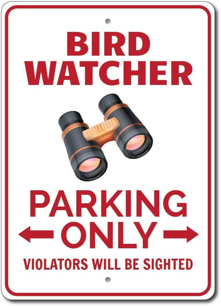 HNNT Señal de estacionamiento para observadores de Aves, Regalo de ...