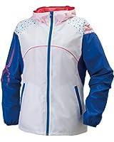 (ミズノ)MIZUNO トレーニングウェア ウィンドブレーカーシャツ 32JE6210[レディース]