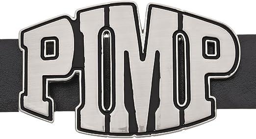 PIMP Hip Hop Metal Fashion Belt Buckle