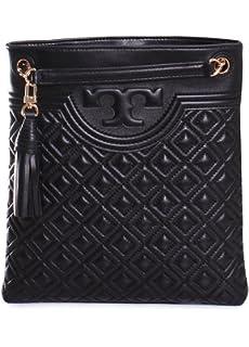 8669a3dbd24 Tory Burch Quilted Nylon Swingpack Tory Navy  Handbags  Amazon.com