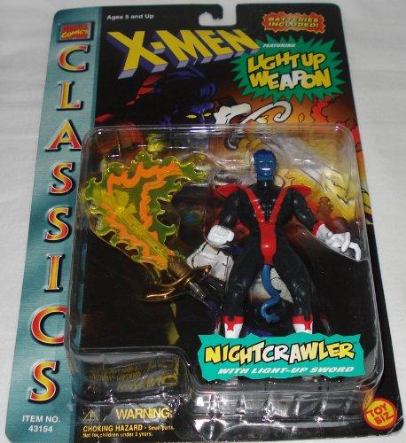 X-Men Classics Nightcrawler with Light Up Sword Original Costume