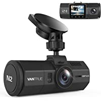 """Vantrue N2 Dual Lens Dash Cam 1080P Front and Rear Dash Camera, 310° Wide Angle 1.5"""" LCD with HDR Car Video Recorder…"""