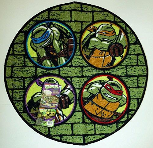 teenage mutant ninja turtle rug - 4