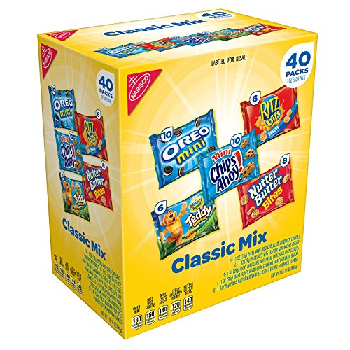 Nabisco Classic Mix Variety Pack (40 ct.) (pack of (Nabisco Teddy)