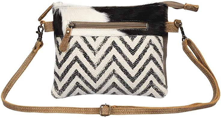 Myra Bag Staggering Upcycled Canvas Cowhide Crossbody Bag S 1376 Handbags Amazon Com A wide variety of cowhide tote bag options are available to you, such as lining material, closure type, and gender. myra bag staggering upcycled canvas cowhide crossbody bag s 1376