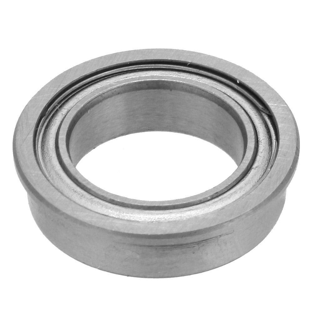 Ball Bearings 10pcs Double-Side Sealed Deep Groove Steel Flange Ball Bearings 10197mm F63800-ZZ and 10154mm F6700-ZZ F6700ZZ