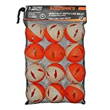 Precision Impact Squishies: Heavy-Duty Lightweight Balls for Baseball Hitting Training (12-Pack)