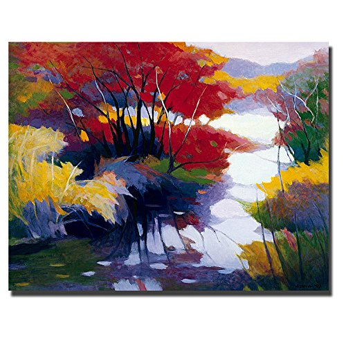 Indian Summer by Tadashi Asoma  - cute summer wall art