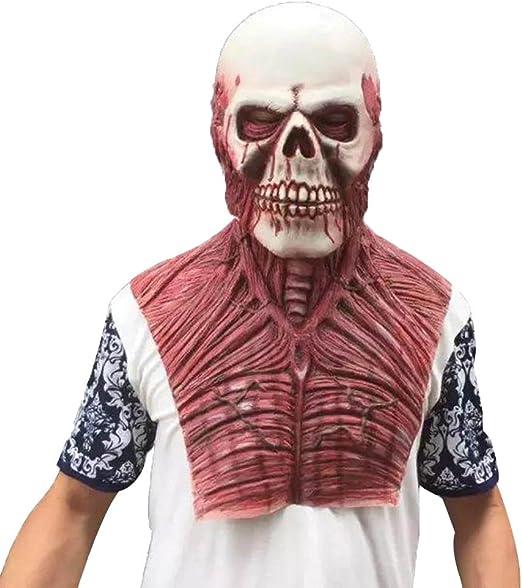 HITSAN - Máscara de látex para disfraz de Halloween Alien Zombie ...