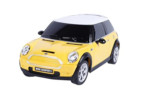 Buy Webby 1 24 Bmw Mini Cooper S Remote Control Sports Car Yellow