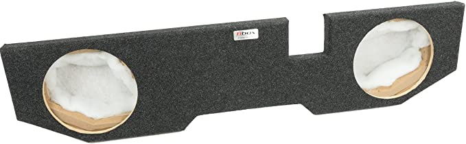 "BedLiner Finish Ram Quad Cab//Crew Cab 2002-2018 Single 12/"" Subwoofer Enclosure"