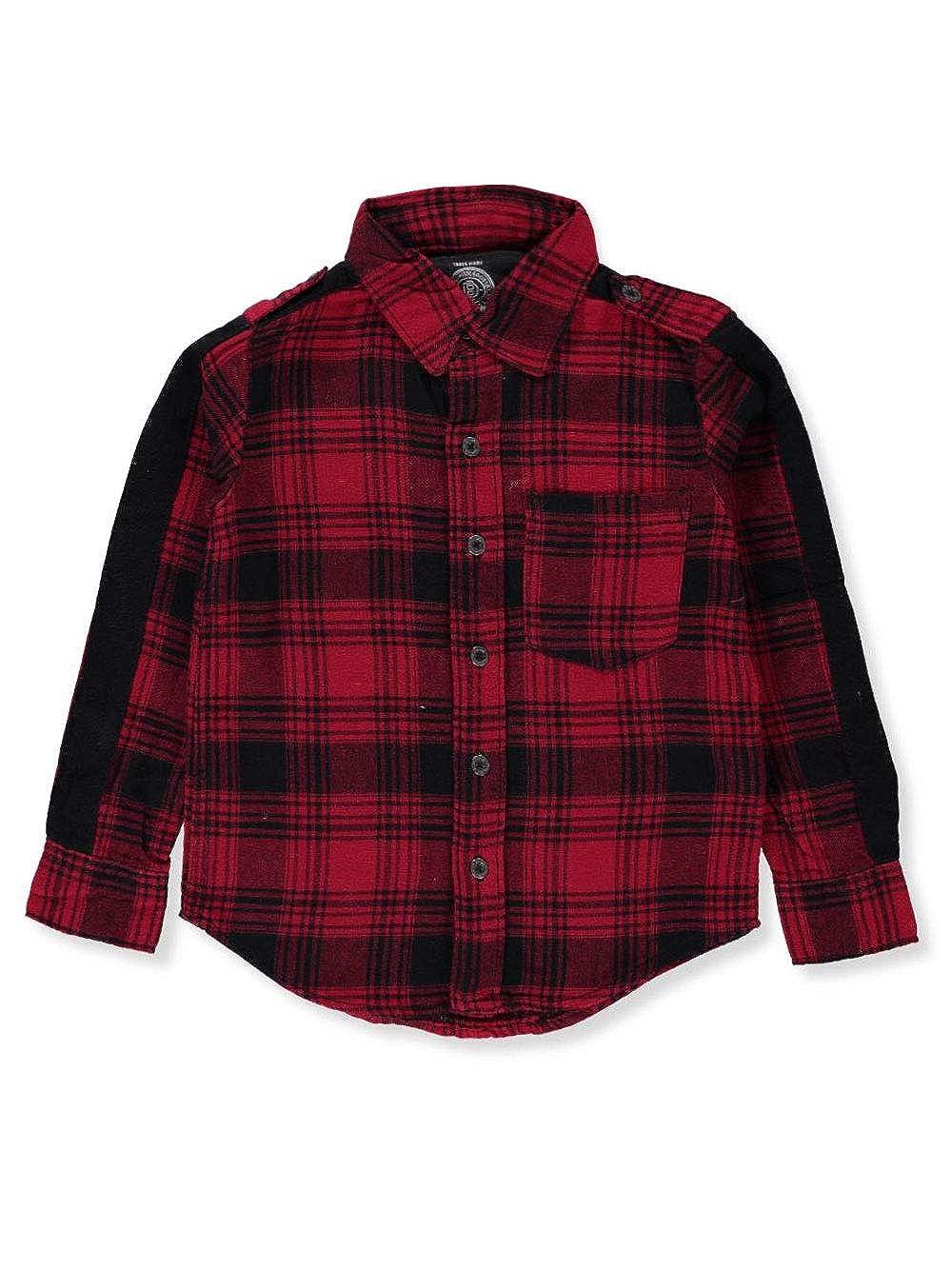 Buffalo Boys' L/S Button-Down Shirt