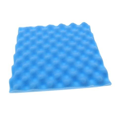 Baoblaze Estudios Cajónes de Huevos Espuma Acústicas Panel Insonorización - Azul, como se describe