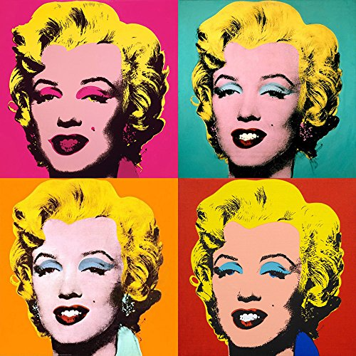 Znalezione obrazy dla zapytania warhol Marilyn monroe