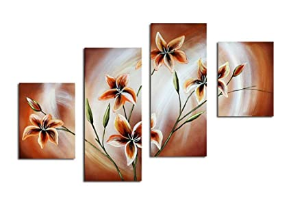 Amazon Noah Art Contemporary Paintings Of Flowers Blooming