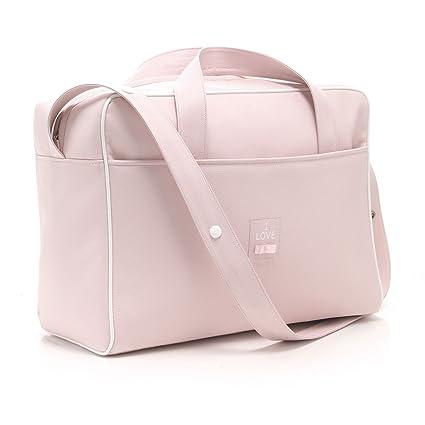 Cambrass Chic - Bolso maternal tipo maletín, color rosa