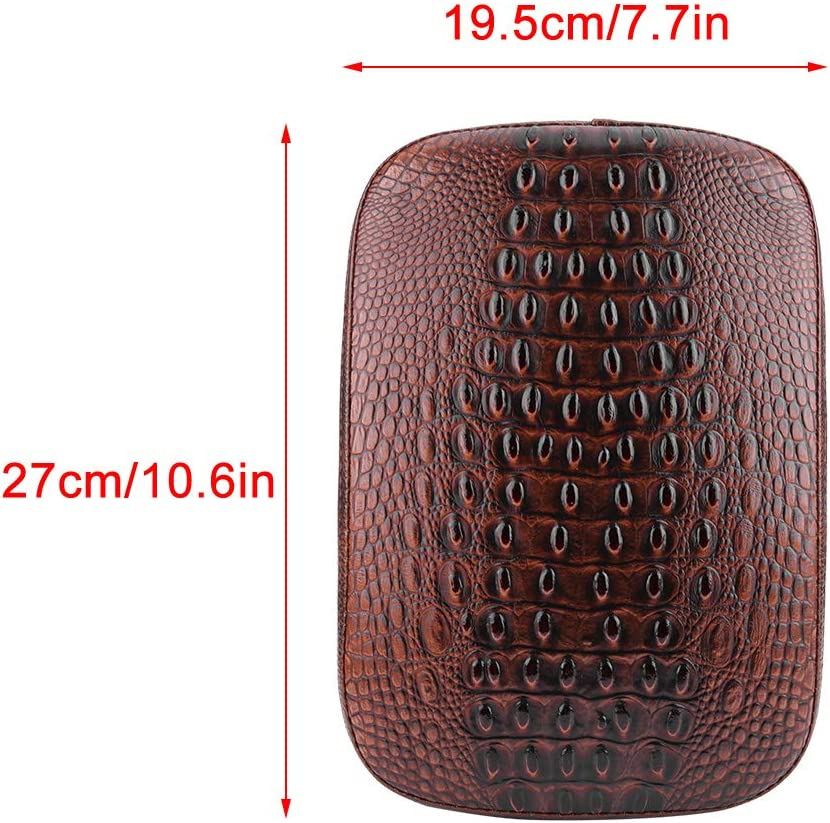 8 Suction Cup-Cross Pattern Fydun Motorcycle Suction Cup Seat Rear Pillion Passenger Pad Seat for Bobber Chopper