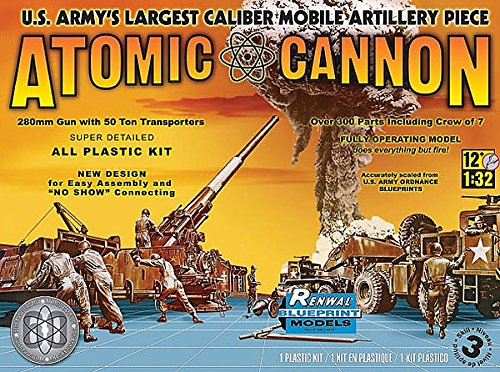 Revell Monogram 1:32 - Atomic Cannon 60th Anniversary (Renwal) by Revell Monogram (Atomic Cannon)