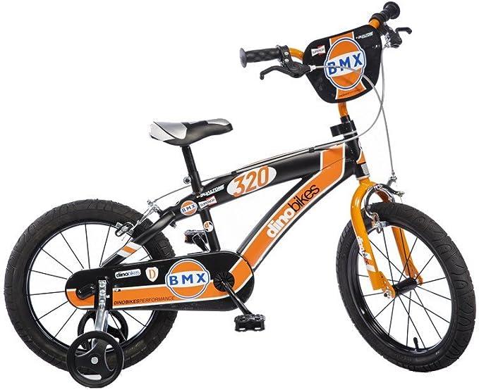 Dino Bikes 165 x c BMX para niño marca dinobikes 16 pulgadas de 5 a 8 años , color/modelo surtido: Amazon.es: Juguetes y juegos