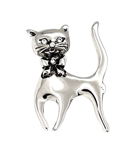 Gato/Gatito broche con un arco - el regalo perfecto para los ...