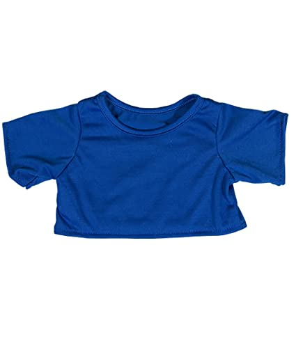 c0f494ebed5 Image Unavailable. Image not available for. Color: Royal Blue T-Shirt Teddy  Bear Clothes Fits Most ...