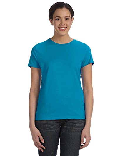 6666047df0 Image Unavailable. Image not available for. Color  Hanes Women S Nano-T Tee  ...